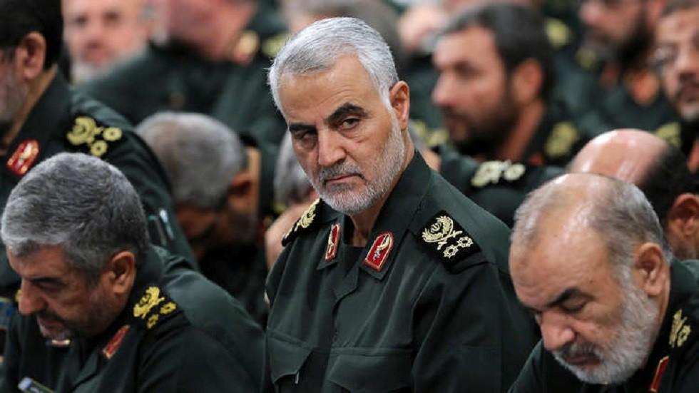 """قائد """"فيلق القدس"""" التابع للحرس الثوري الإيراني، اللواء قاسم سليماني"""