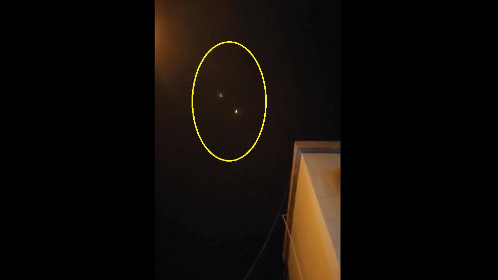 وسائل إعلام سعودية تنشر مقطع فيديو لاستهداف جازان بصواريخ أطلقها الحوثيون