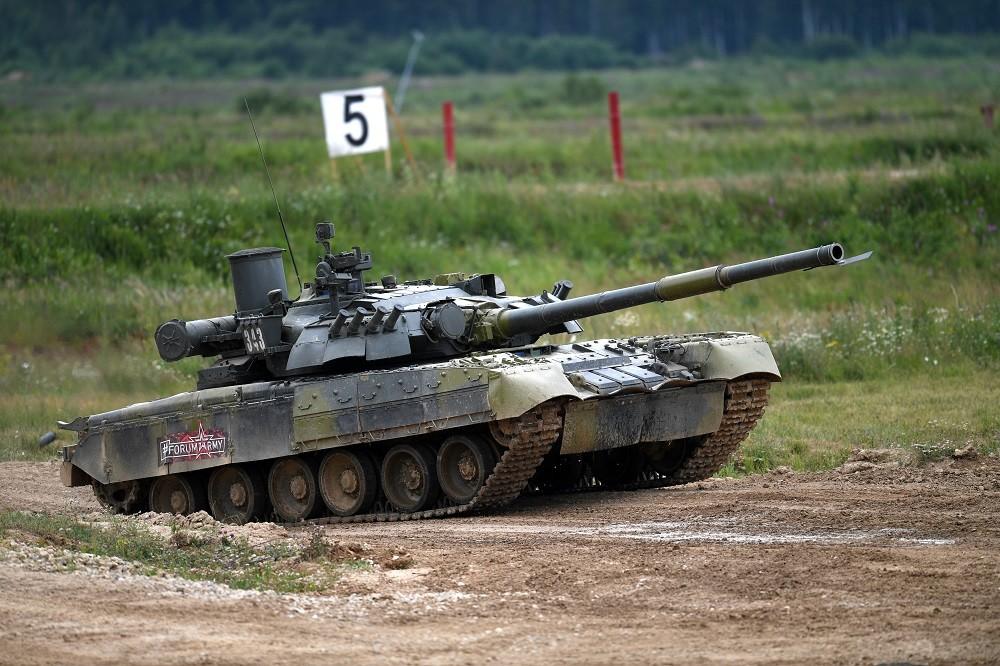 الدبابة الروسية من طراز