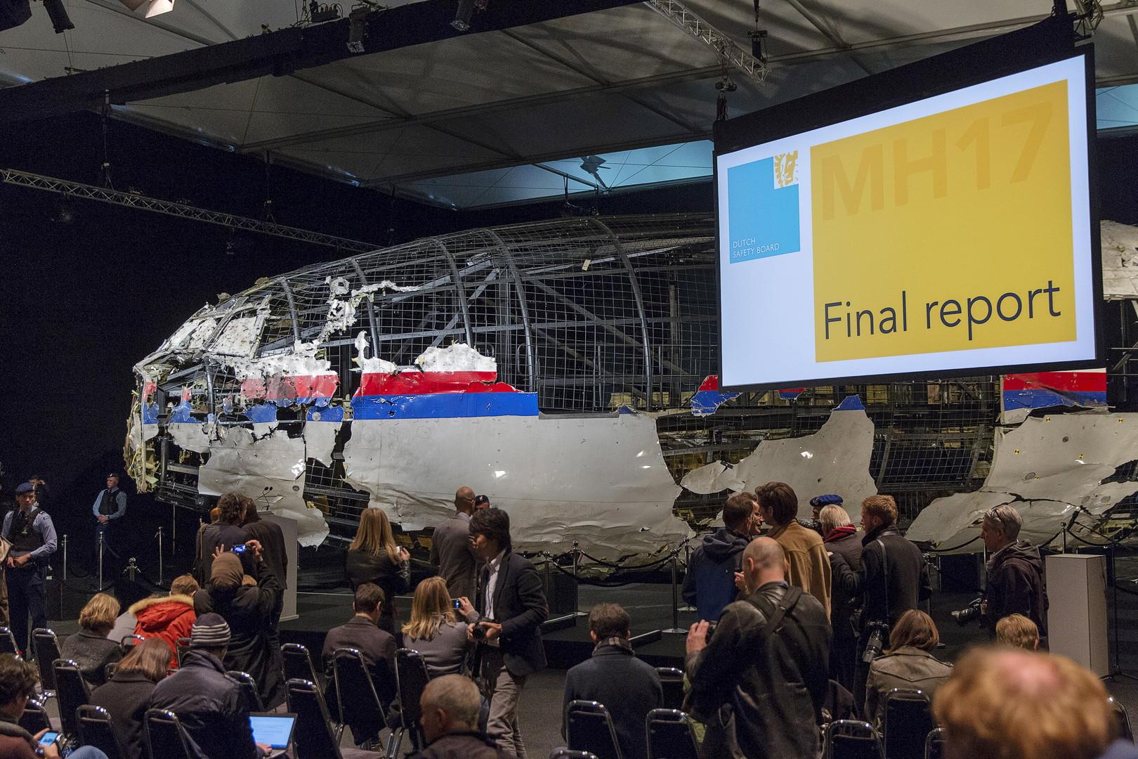 باتروشيف يناقش في ماليزيا سير التحقيقات في حادث إسقاط طائرة بوينغ الماليزية فوق أوكرانيا عام 2014