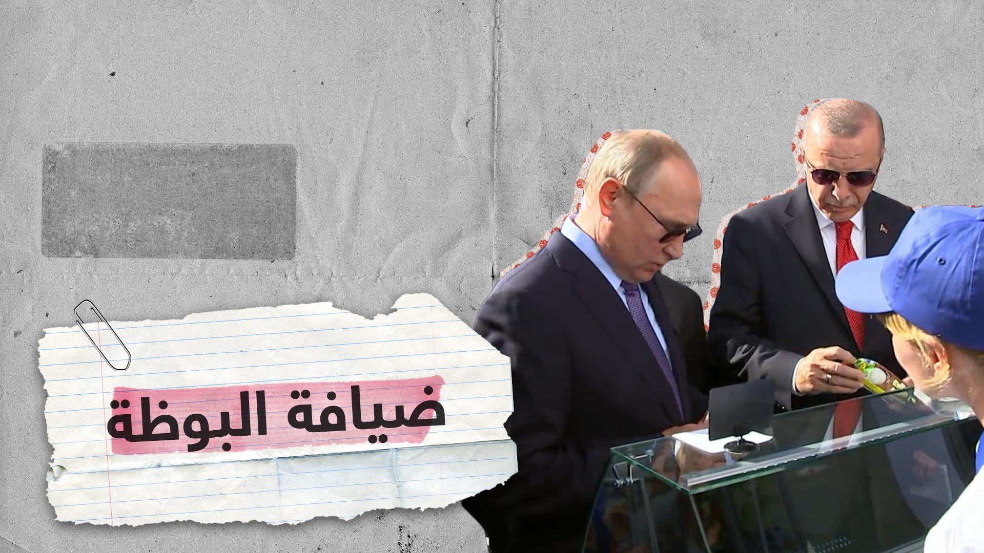 حوار بين بوتين وأردوغان أثناء تناول المثلجات (فيديو)
