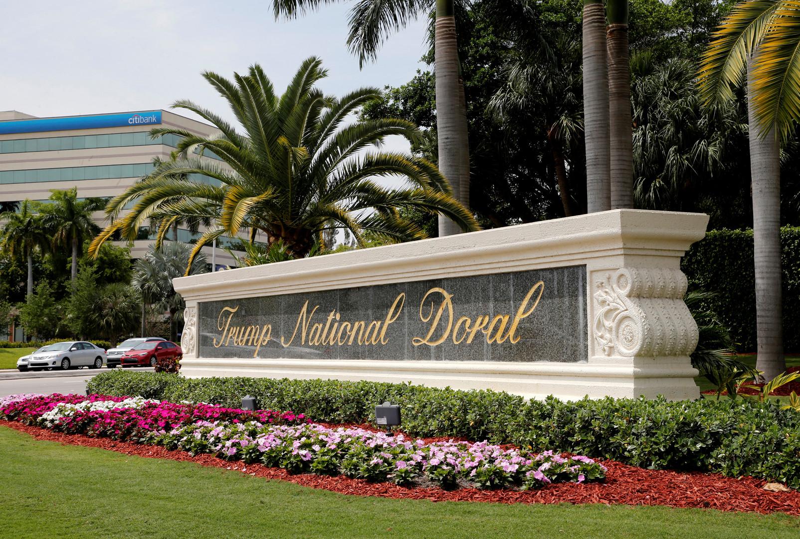 منتجع Doral التابع لدونالد ترامب في ميامي (ولاية فلوريدا)