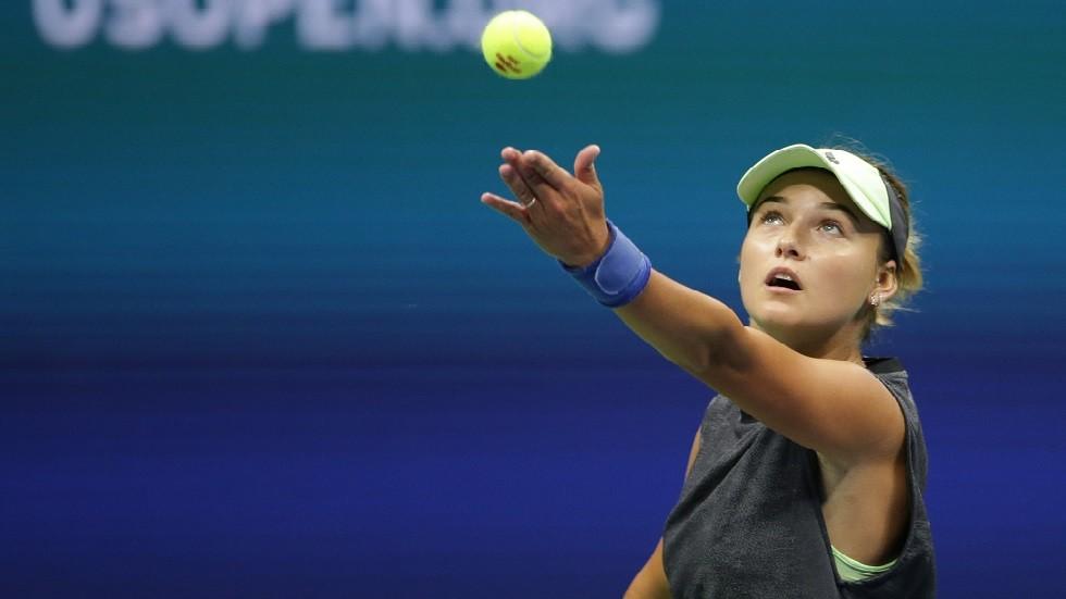 الروسية كالينسكايا تصعق ستيفينز في بطولة أمريكا المفتوحة