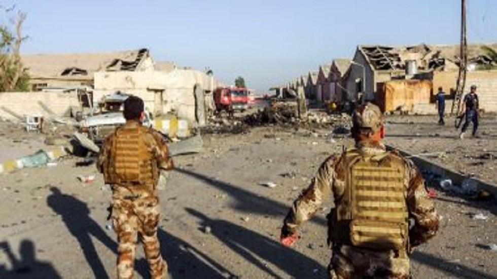 مقتل 4 جنود عراقيين بهجوم مسلح على نقطة تفتيش في الأنبار