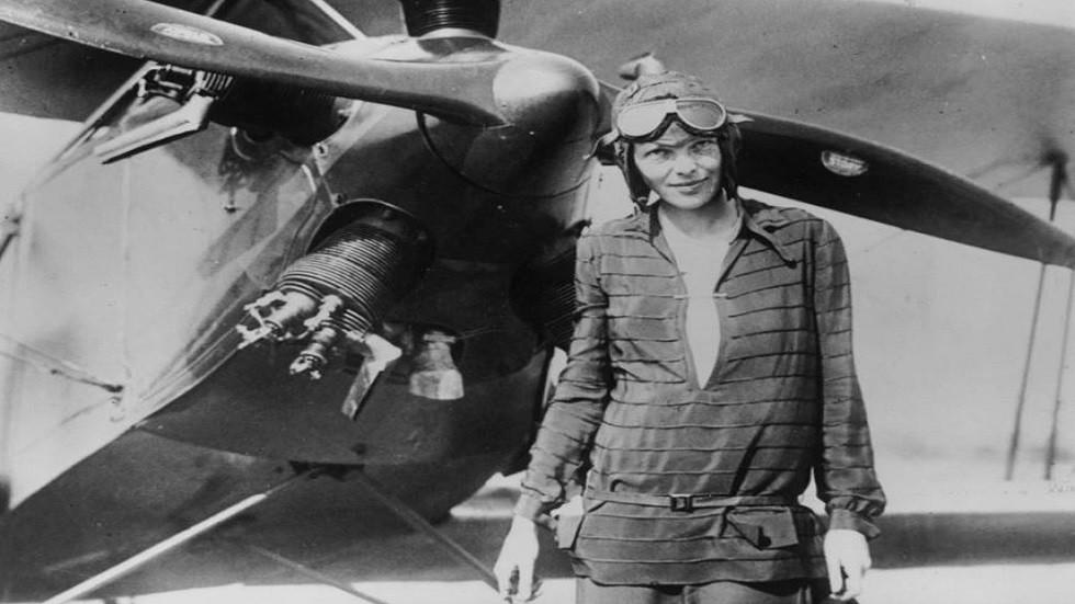 الطيارة الأمريكية المفقودة، أميليا إيرهارت
