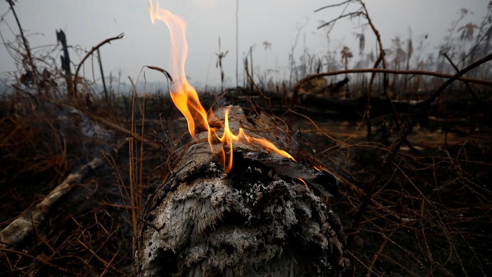 حرائق غابات الأمازون في البرازيل
