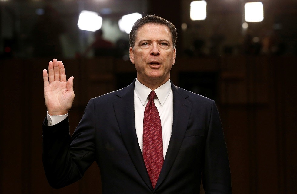 المدير السابق لمكتب التحقيقات الفيدرالي جيمس كومي