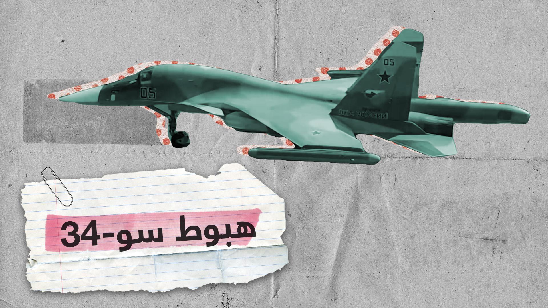 فيديو..  المقاتلة سو-34 وطائرة النقل آن-26 الروسيتان تتزودان بالوقود