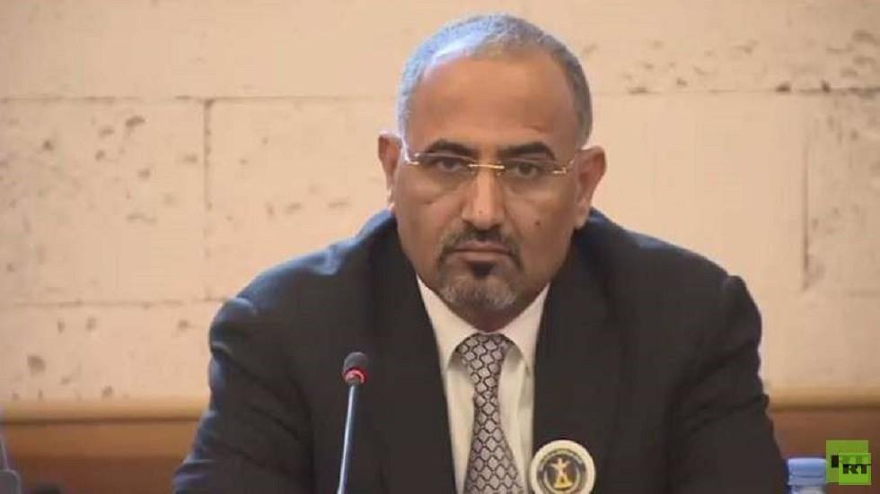 رئيس المجلس الانتقالي في جنوب اليمن عيدروس عبد العزيز الزبيدي