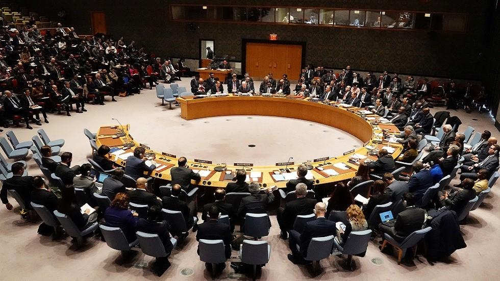 جلسة لمجلس الأمن الدولي (صورة أرشيفية)