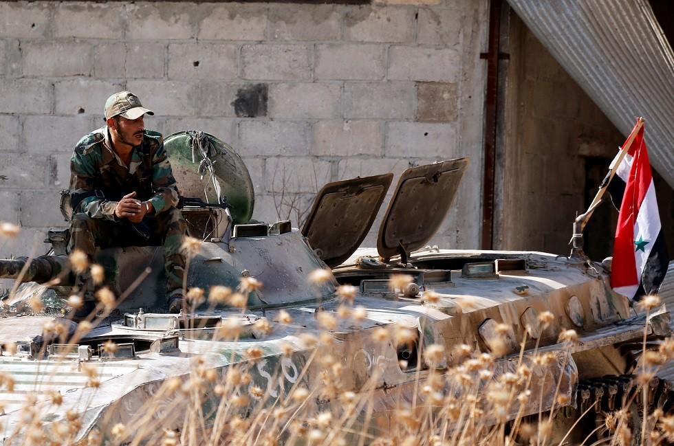 الجيش السوري يعلن سيطرته على بلدة التمانعة في ريف إدلب الجنوبي