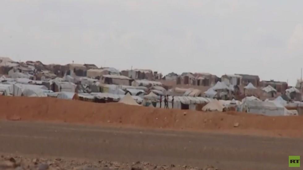 أوضاع نازحي مخيم الركبان بسوريا