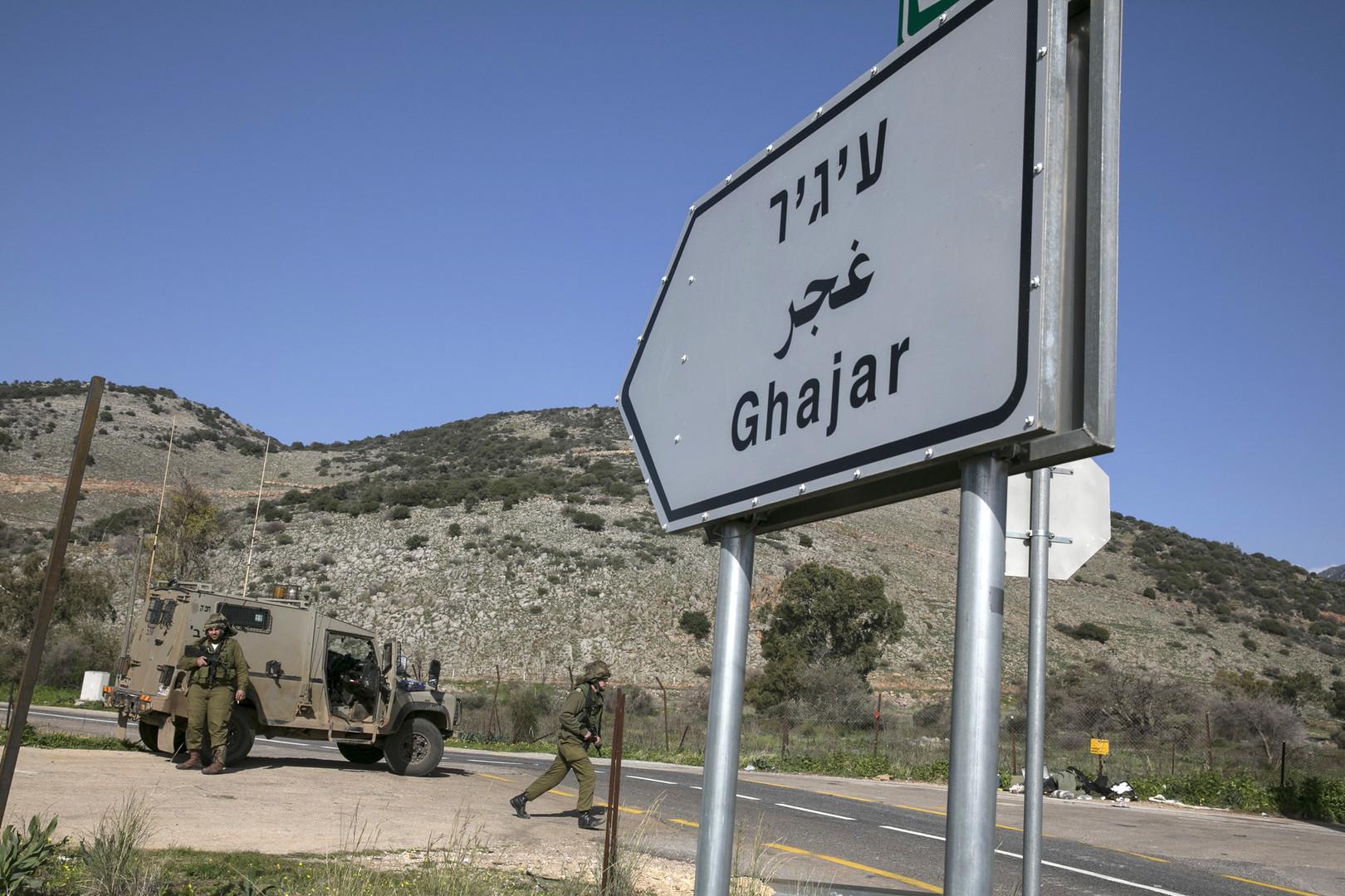 مصادر لـRT: الجيش الإسرائيلي يغلق طريق قرية الغجر في الجولان المحتل