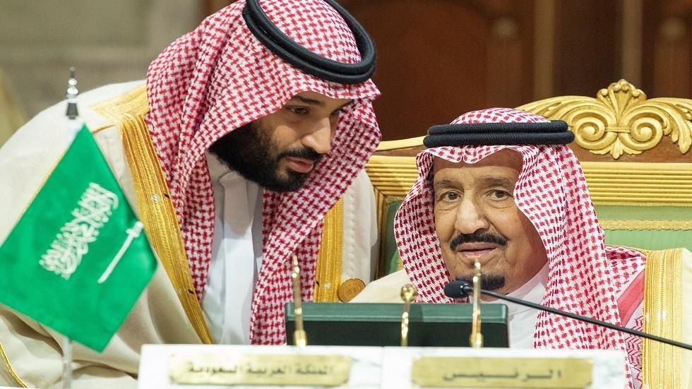 العاهل السعودي الملك سلمان بن عبد العزيز وولي عهده الأمير محمد بن سلمان