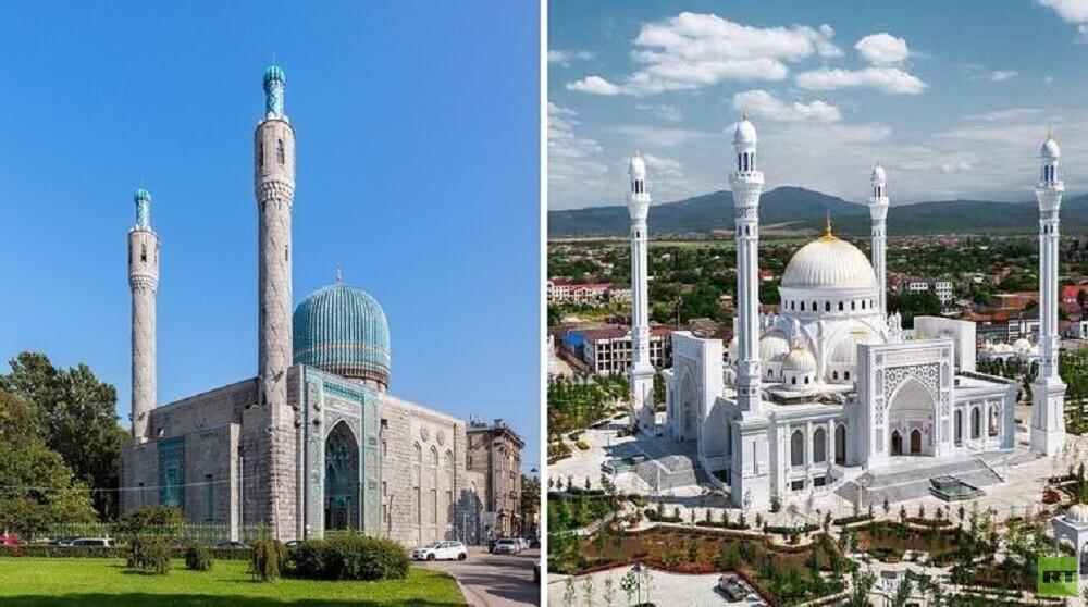 بوتين يسمي أجمل مسجد في العالم