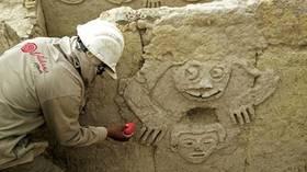 اكتشاف نقوش جدارية في بيرو لأقدم حضارة أمريكية 5d6623e995a597b5078b4646.jpg