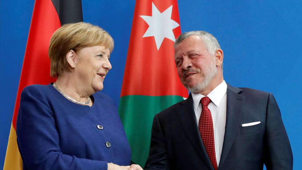 نتيجة بحث الصور عن ميركل: برلين لا توافق على إعلان نتنياهو نيته ضم غور الأردن