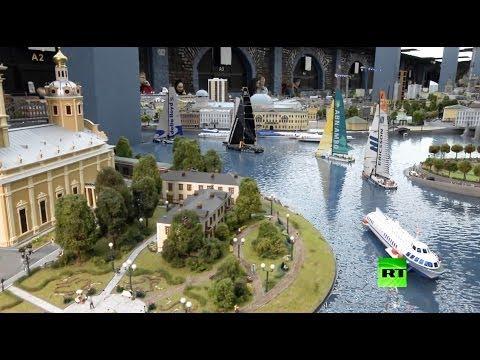 مجسمات لمدن السحر والجمال