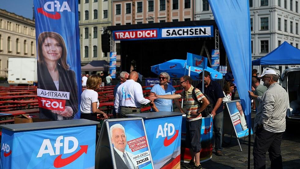 اليمين القومي يستعد لتحقيق اختراق انتخابي في شرق ألمانيا
