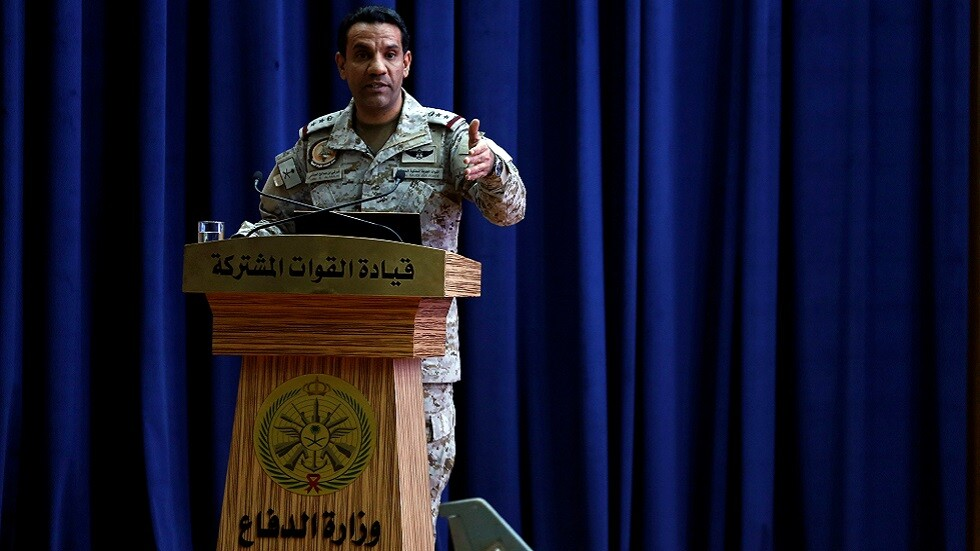 المتحدث الرسمي باسم التحالف العربي في اليمن العقيد الركن تركي المالكي  (صورة أرشيفية)
