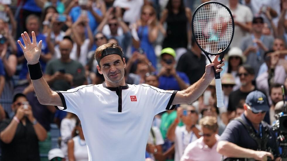 فيدرر يبلغ ربع نهائي بطولة أمريكا المفتوحة