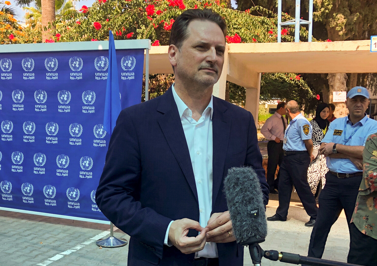 بيير كرينبول، المفوض العام لوكالة غوث وتشغيل اللاجئين