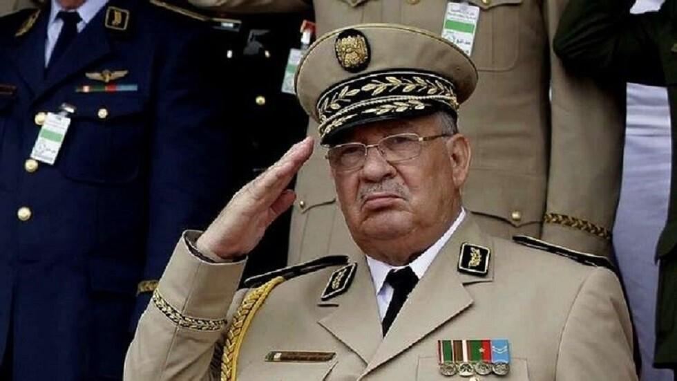 رئيس أركان الجيش الجزائري أحمد قايد صالح (صورة أرشيفية)