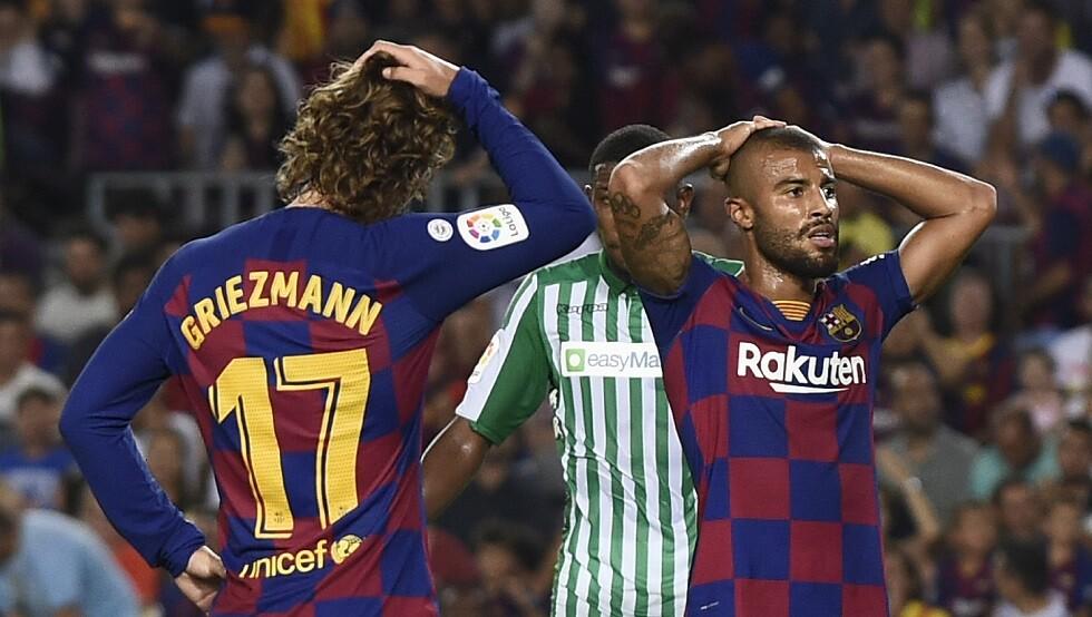 رسميا.. برشلونة يعلن إعارة رافينيا