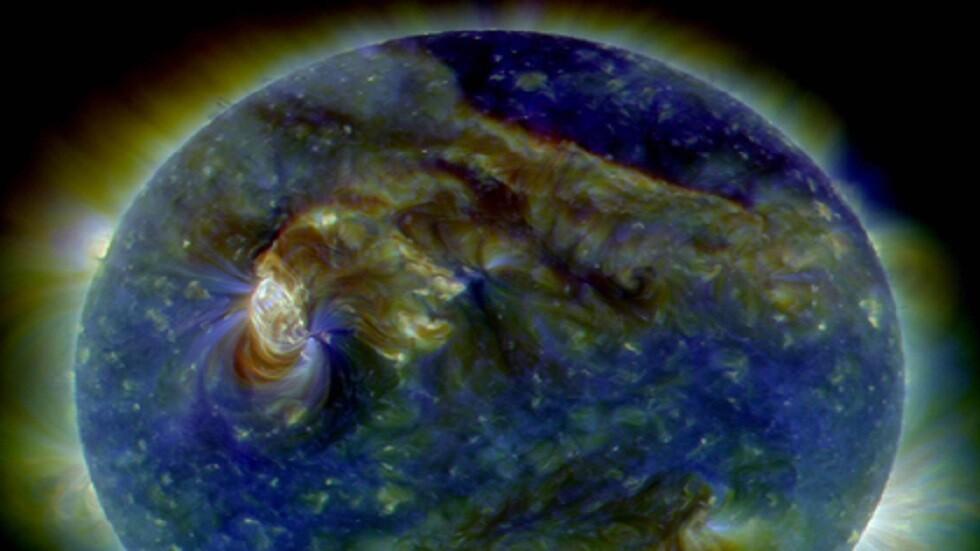 عاصفة مغناطيسية تضرب الأرض