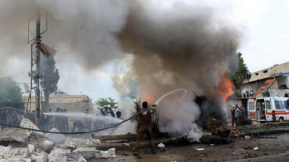 قتيل وجرحى في تفجير عنيف هز مدينة أعزاز شمالي سوريا