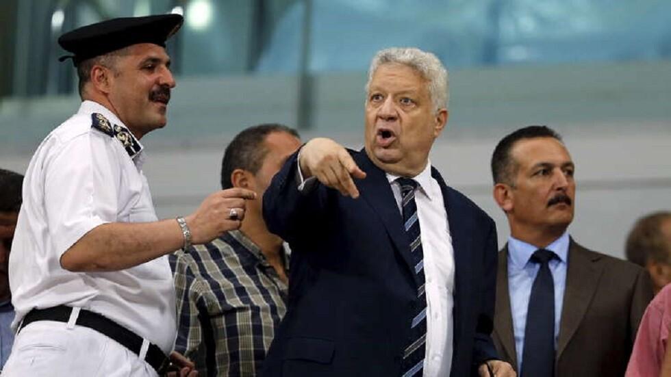 مرتضى منصور يهدد رئيس الأهلي المصري بفضيحة أخلاقية