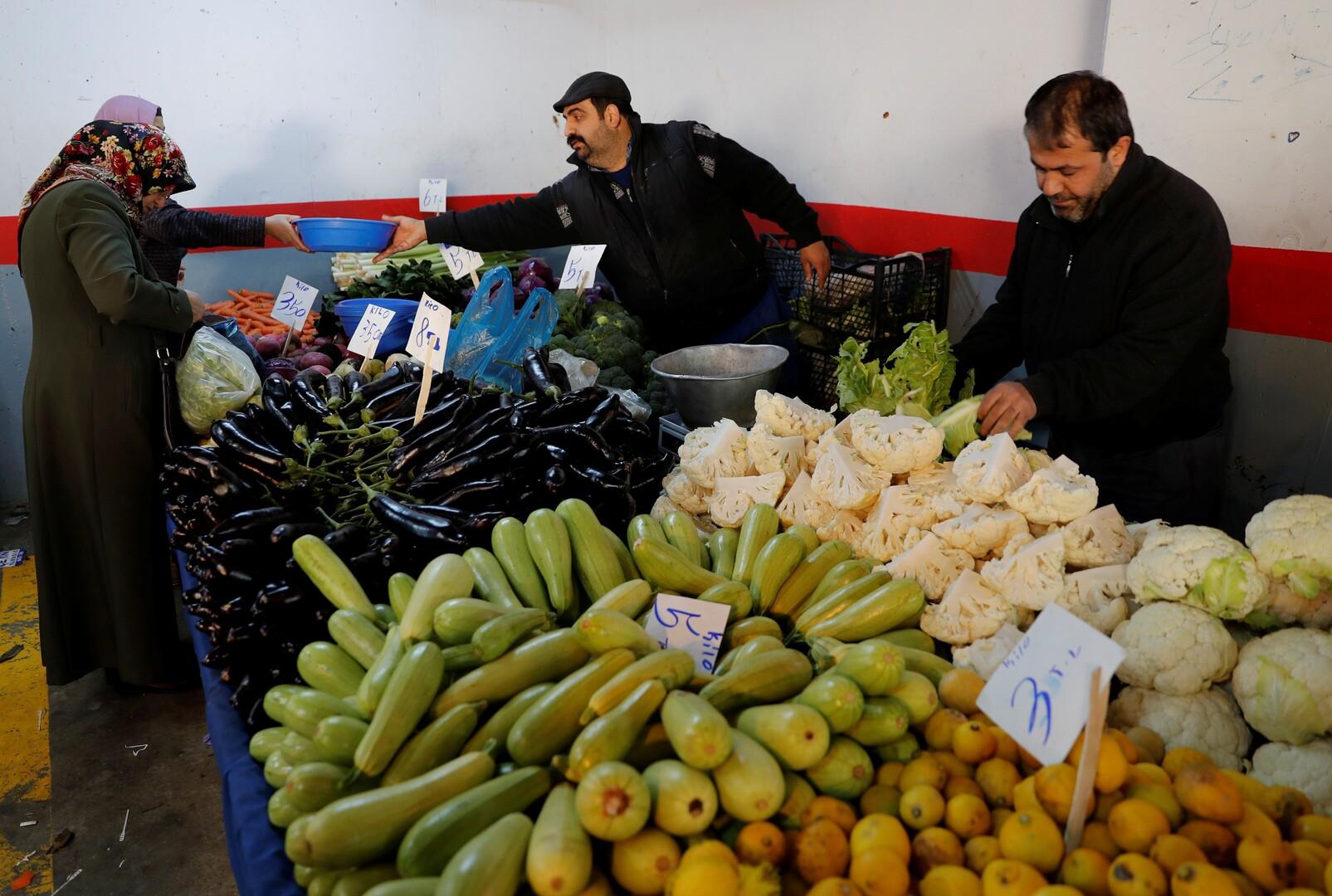 انخفاض التضخم في تركيا