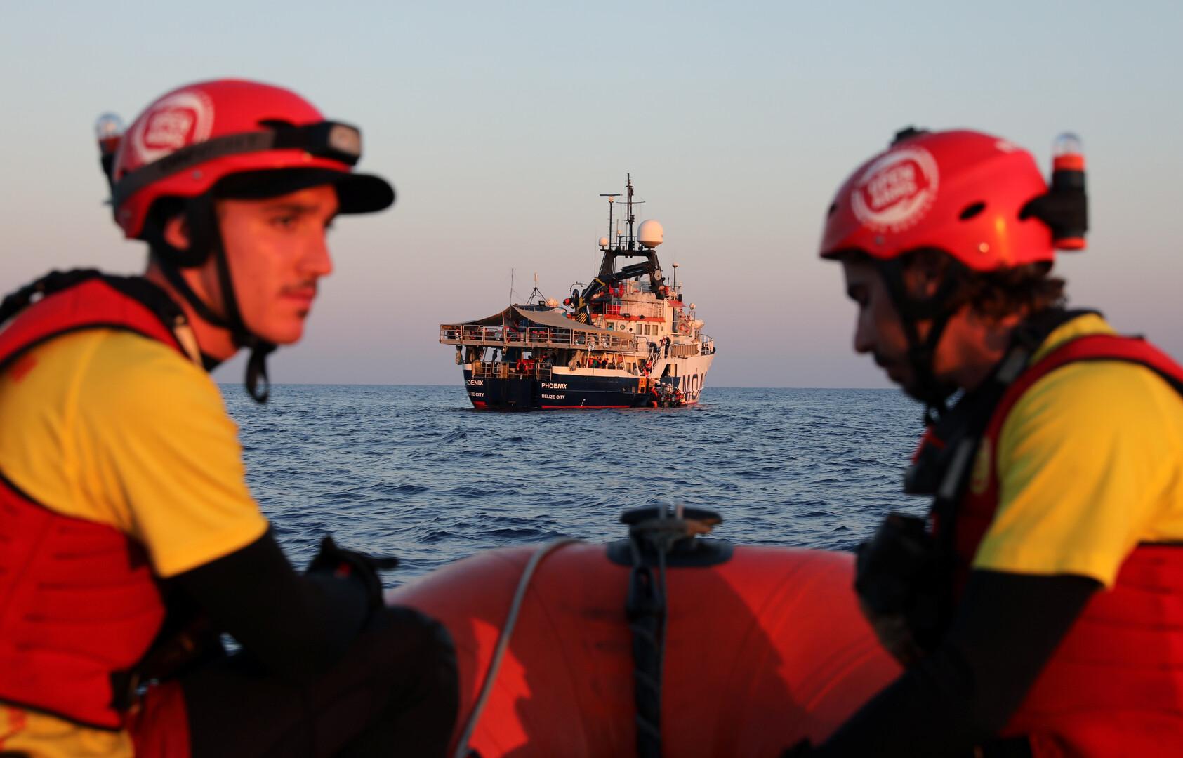 البحرية الليبية: إنقاذ 108 مهاجرين غير شرعيين بينهم أطفال ونساء