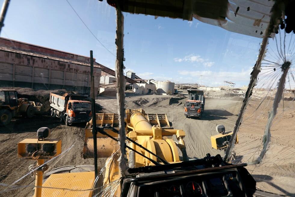حريق مروع يلتهم أنابيب لنقل الغاز في مدينة آسفي المغربية