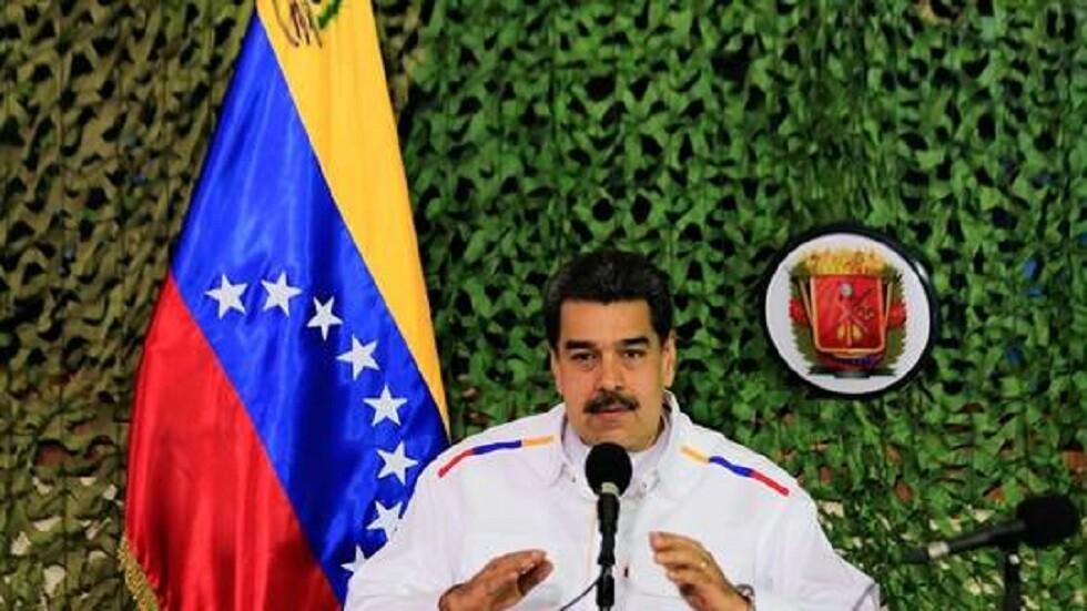 مادورو يتهم كولومبيا بالسعي لإشعال حرب مع فنزويلا