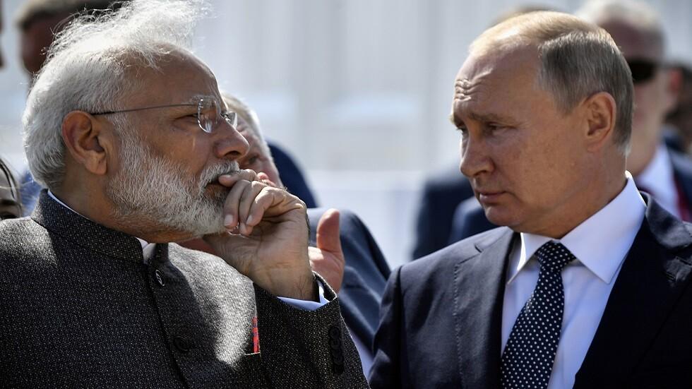 روسيا والهند توقعان حزمة من الاتفاقات أبرزها عسكرية
