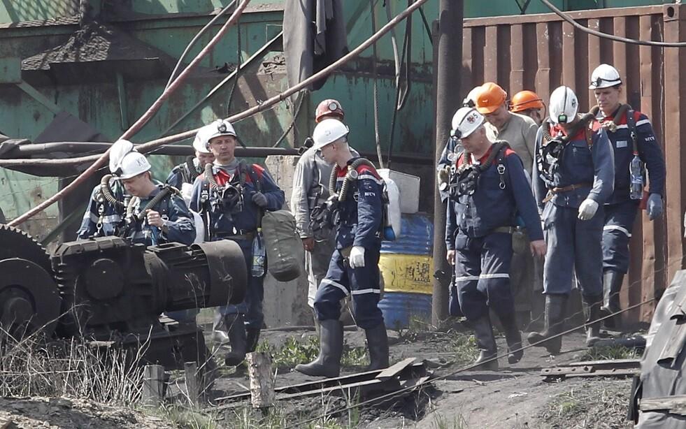 مقتل عامل بانفجار في منجم فحم في دونيتسك