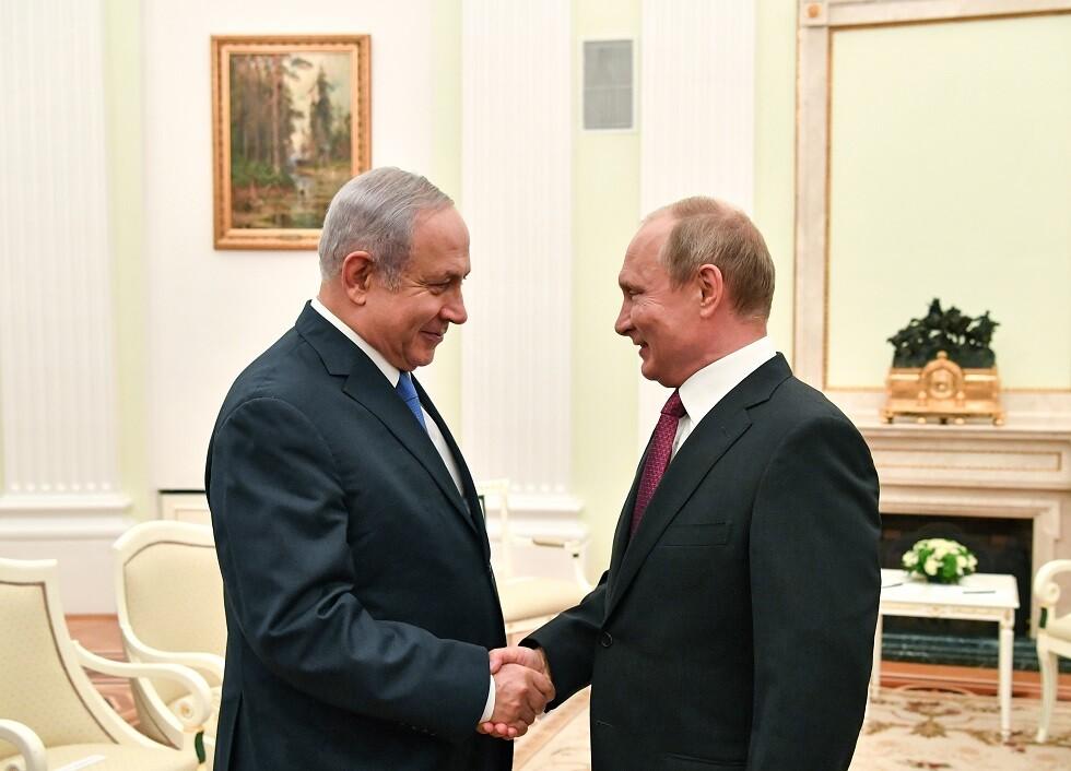 نتنياهو إلى موسكو لمقابلة بوتين قبل انتخابات 17 سبتمبر
