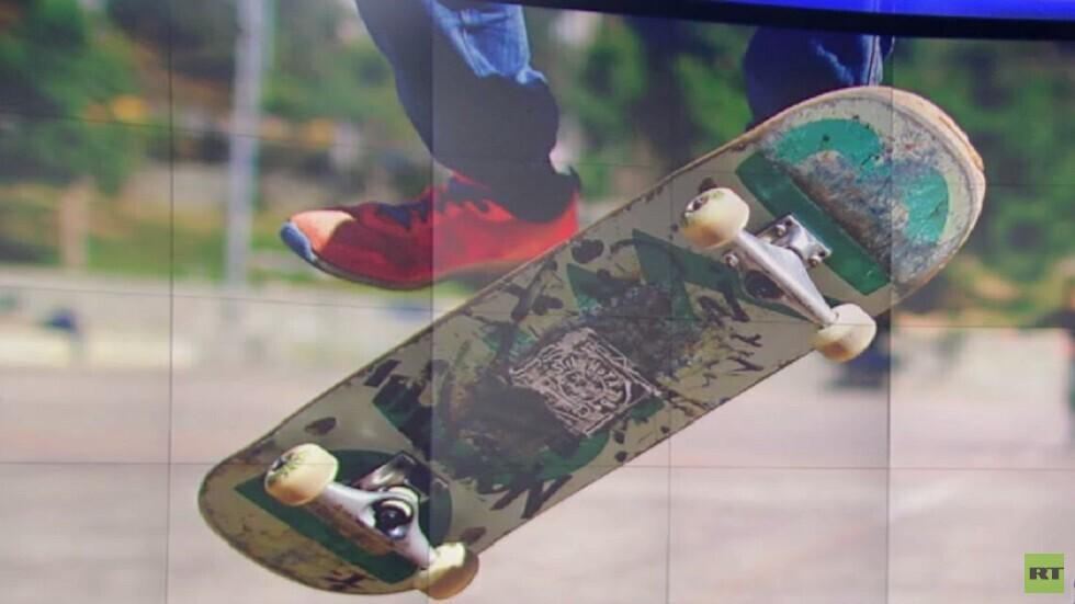 غزة.. نواد جديدة لممارسة التزلج بالعجلات