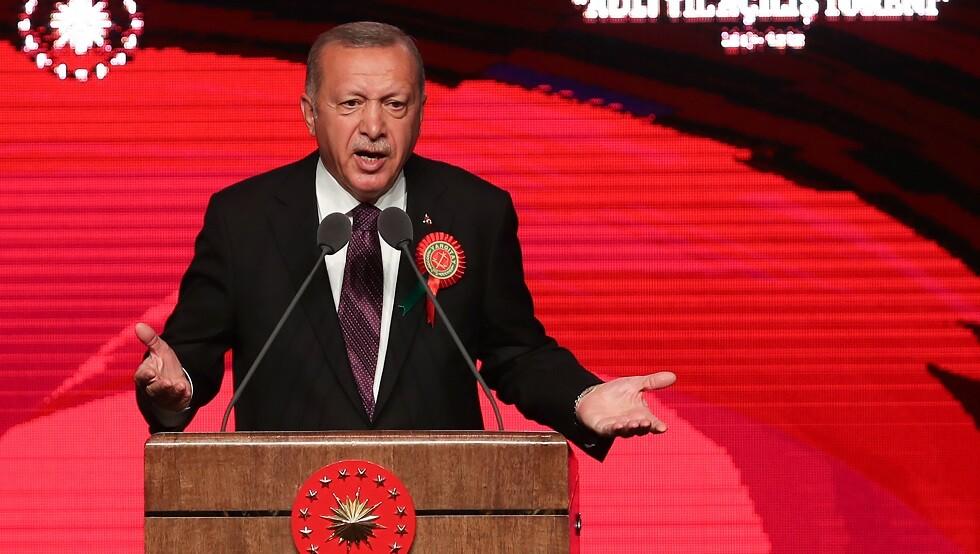 أردوغان يلمح إلى رغبته في امتلاك تركيا سلاحا نوويا
