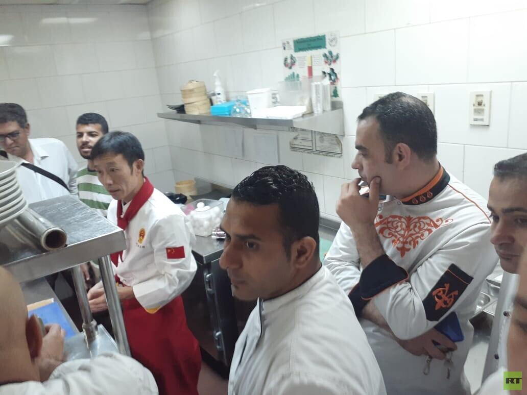 السياحة المصرية تدرب الطهاة على إعداد الأطباق الصينية