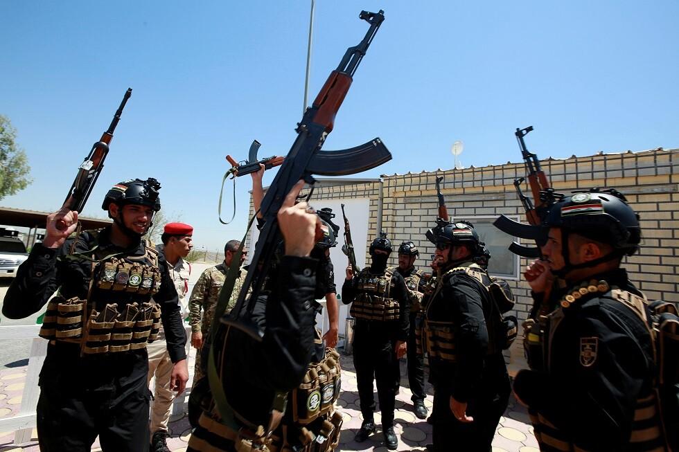 عناصر من الحشد الشعبي في العراق