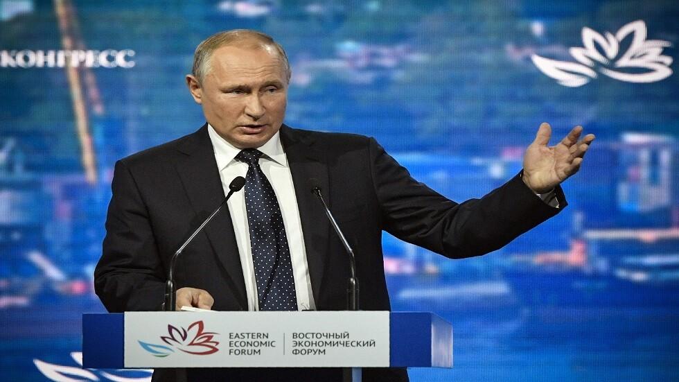بوتين: روسيا قادرة على حماية سفنها في مضيق هرمزبالخليج