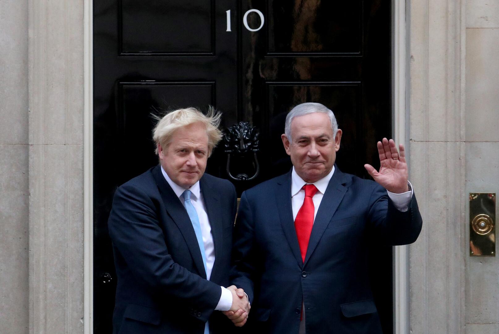 جونسون يؤكد لنتنياهو ضرورة الحوار مع إيران