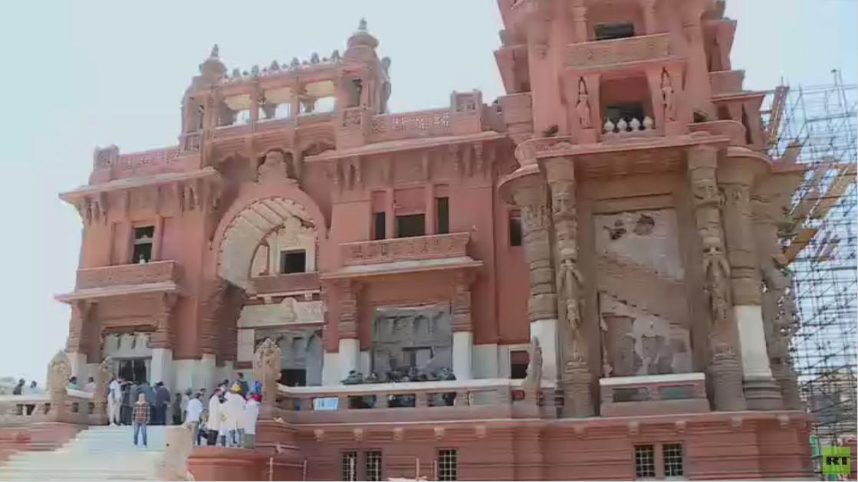 تواصل أعمال ترميم قصر البارون بالقاهرة