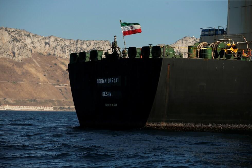 واشنطن لا تخطط لاحتجاز ناقلة النفط الإيرانية في المتوسط