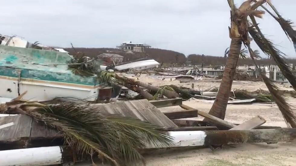 الدمار في جزر الباهاماس، بعد إعصار دوريان