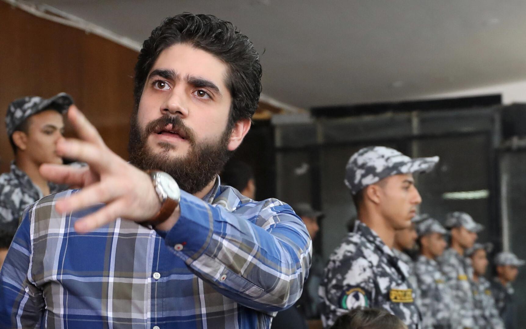 دفن عبد الله مرسي بجوار والده شرقي القاهرة