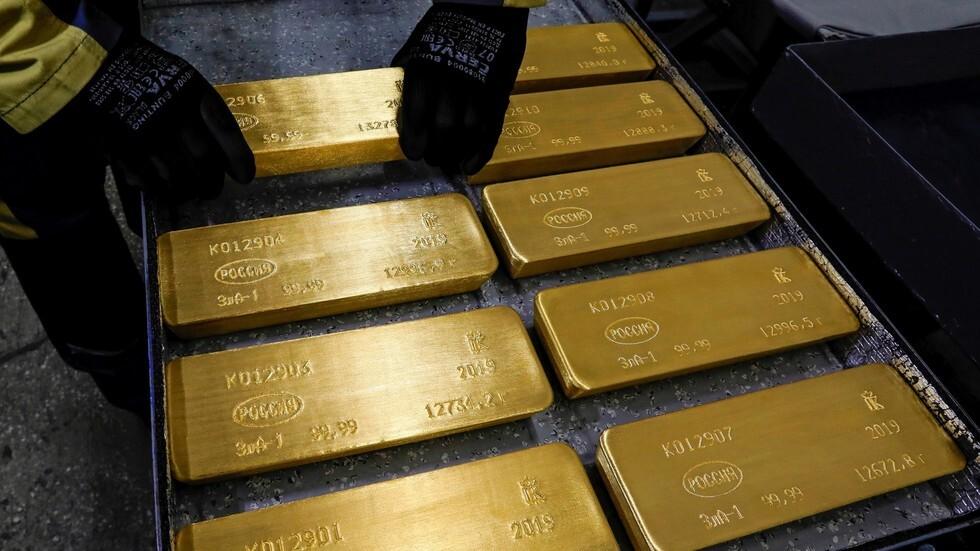 روسيا تضيف 12 طنا من الذهب إلى خزائنها