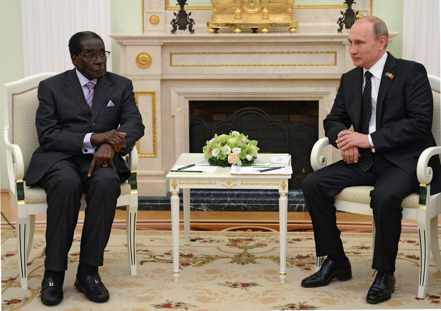بوتين يعزي زيمبابوي بوفاة رئيسها السابق روبرت موغابي